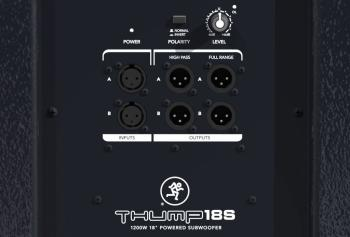 Thump18S 1200W 18in Powered Subwoofer