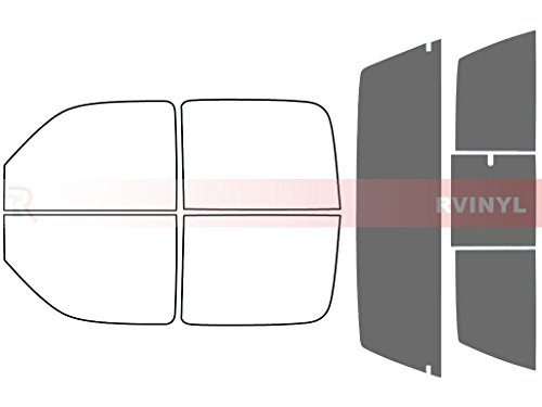 Rtint Window Tint Kit for GMC Sierra 2001-2006 (4 Door) - Rear Windshield Kit - 50%