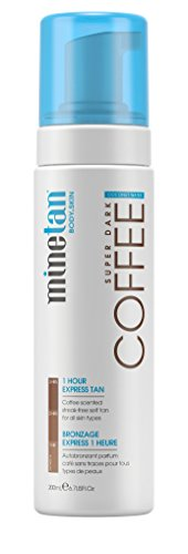 MineTan Sunless Tanning Coconut Coffee Foam, 6.7 oz (Self Tanning Foam)