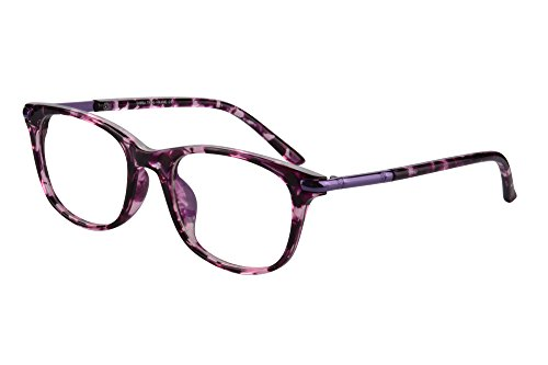 (SHINU Horn Rimmed Readers Progressive Multifocus Computer Reading Glasses-SH017(Pink Demi,x2.5))