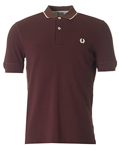 fred-perry-x-nigel-cabourn-training-pique-polo-red-large