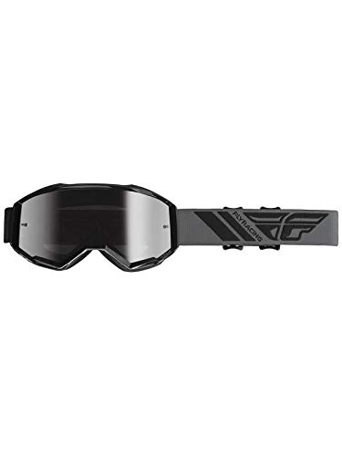 Fly Racing 2019 Zone Goggles (BLACK/SILVER MIRROR LENS)