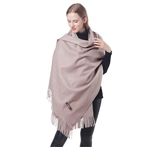 05c50a074 Winter Cashmere Scarfs for Women Soft Warm Pashminas Shawls and Wraps 100% ( 1-