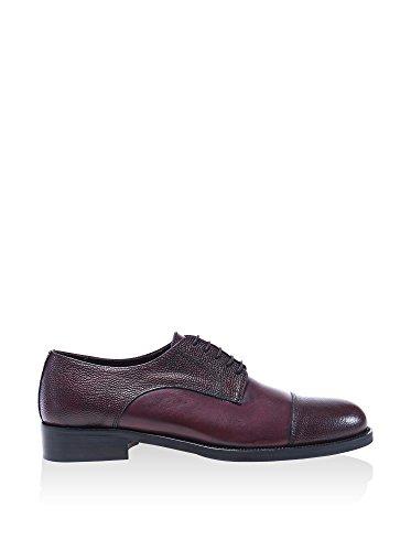 British Passport , Chaussures de ville à lacets pour homme violet bordeaux