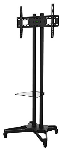 Ematic EMW1021 Mobile TV Stand for 37-70 Inches HDTV Display