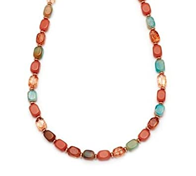 Lola Rose Islington Necklace Tie Dye Agate DMMGkK6T