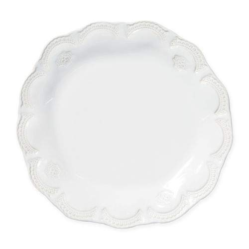 - Vietri Incanto Stone White Lace Dinner Plate