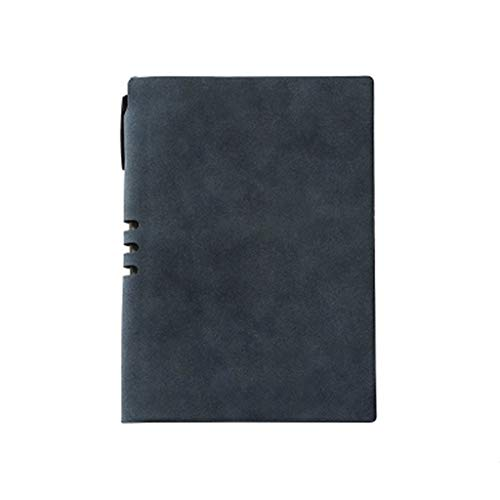 232 Leather - ZHANGY BOOK Notebook Simple Thickened Business Notes, Office Stationery Diary A5 Leather Hand Book, 232 Pages,a