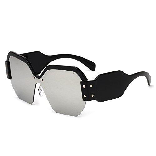 estilo de europeo grande c de y sol gafas RDJM americano mujer Gafas c de sol para marco TB7AYYwqXU