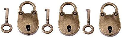 鍵付き南京錠、南京錠屋外用南京錠、小型南京錠小型南京錠、小型ボックスの日記用