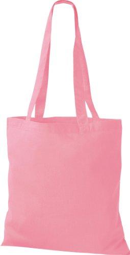Shirtinstyle - Bolso de tela para mujer rosa - classic pink