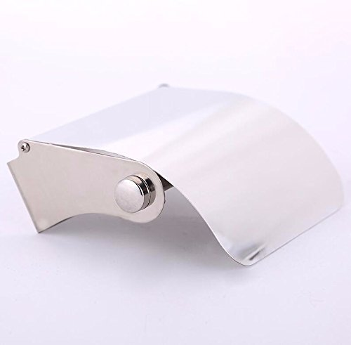 SFSYDDY-The hotel is a paper towel rack toilet STAINLESS STEEL TOILET roll paper tray with a continental tray works bathroom wall-paper towel rack by SFSYDDY (Image #3)