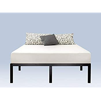 Amazon Com Zinus 14 Inch Classic Metal Platform Bed With