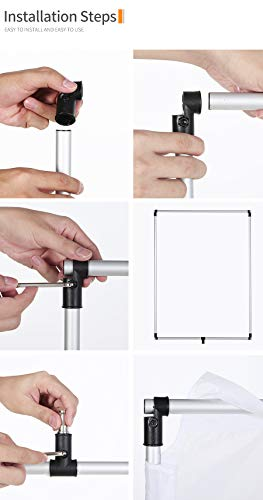 OPEN DRAWER Sun Scrim 2.95 x 3.9 feet / 35 x 47 inch 5in1 Panel Sun Scrim Translucent Soft Cloth and Gold/Silver/Black/White Diffuser Reflector Aluminum Alloy Frame Compatible Video Photography by OPEN DRAWER (Image #7)