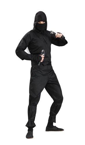 Mens-Deluxe-Ninja-Costume-Black-One-Size