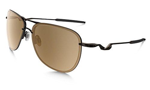 Tungsten Iridium Sunglasses (Oakley Men's Tailpin OO4086-06 Aviator Sunglasses, Pewter/Tungsten Iridium Lens, 61 mm)