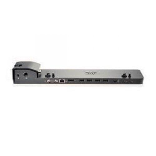 HEWLETT-PACKARD ULTRASLIM DOCKING STATION 4 x USB Ports - Network (RJ-45) - VGA - DisplayPort / B9C87AA#ABA /
