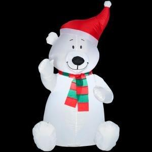Outdoor Lighted Teddy Bear - 4