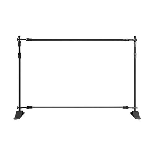 Step and Repeat 8 Feet8 Feet Advertising Display Banner Stand Adjustable Telescopic Trade Show Backdrop by AMPM24US-US (Image #3)