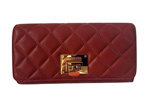 Michael Kors Women's Astrid Carryall Wallet No Size (Cherry)