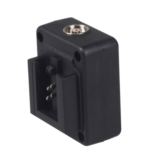 Kaavie P-TTL Flash Hot Shoe Adapter with PC Connection Port for Sony Alpha Cameras