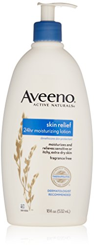 Aveeno Stress Relief Moisturizing Lotion For Dry Skin, 18 Fl. Oz