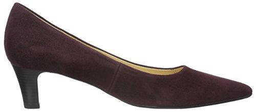 Gabor Shoes 51.250 Ladies Chiuso Pumps Rosso (nuovo Merlot 15)