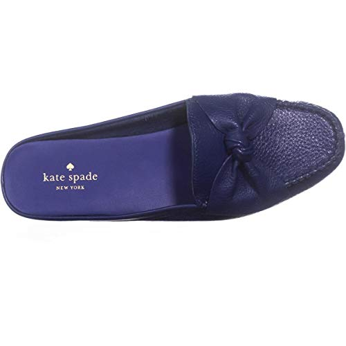 New Slip Mallory on Leather Garden Spade Loafer York Blue Kate Tumbled Women's pqX5FOw