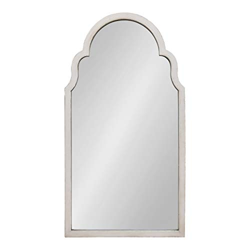 Kate and Laurel Damara Moroccan Style Framed Arch Mirror, 26x48, -