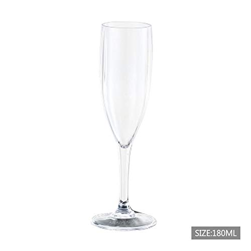 Linker Wish Plastic Champagne Flutes Champagne Flute Unbreakable Flutes Glasses Cocktail Beer Wine Cup Party Supplies Dinner Wedding Accessories Bar Tool2