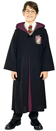 Rubie's Harry Potter Gryffindor Child's Costume Robe, Medium Black -
