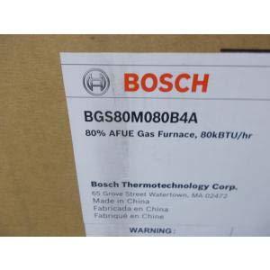 - BOSCH BGS80M080B4A/7738006443 80,000 BTU