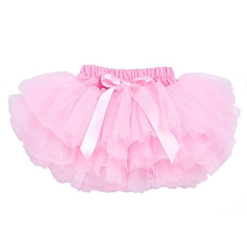 belababy 12 Months Baby Girl Birthday Cake Smash Pink Tutu]()