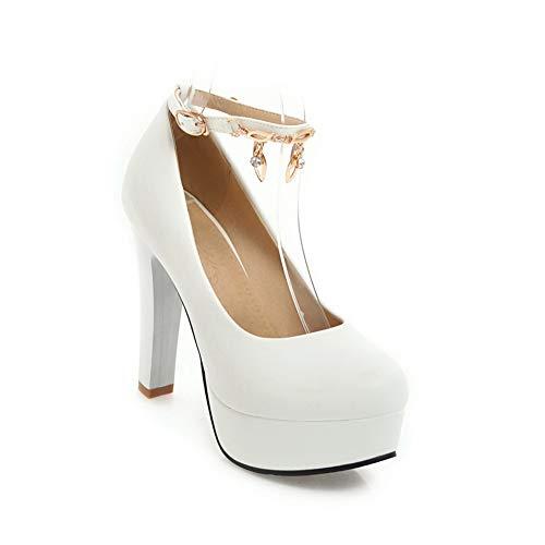 DGU00613 AN 5 Blanc 36 Blanc Sandales Compensées EU Femme 7xwdqpCxa