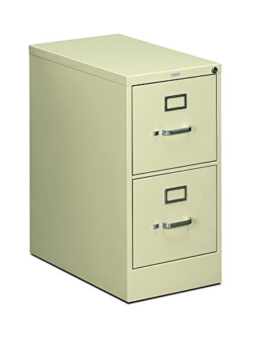 HON Two-Drawer Filing Cabinet- 510 Series Full Suspension Letter File Cabinet, 29 by 15-inch, Putty (H512)