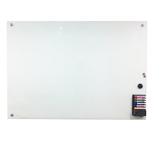 CO-Z Glass Magnetic Note Memo Eraser Wall Board 36