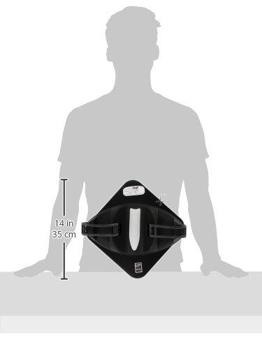 CAM 1379//A magn/ético Ellisse portaesqu/ís Negro