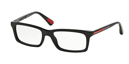 Prada PS02CV 1AB1O1 Men's Eyeglasses, Black, ()