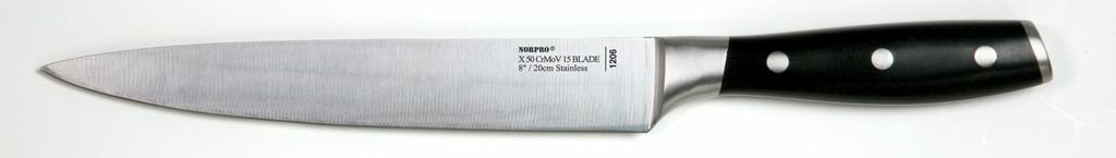 Norpro Stainless Steel 8-Inch Carving Knife