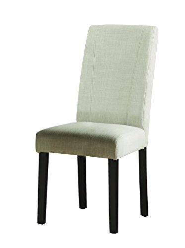 Nagel Parsons Side Chairs Ivory and Brown (Set of 2) - Traditional Parsons Chair Chair