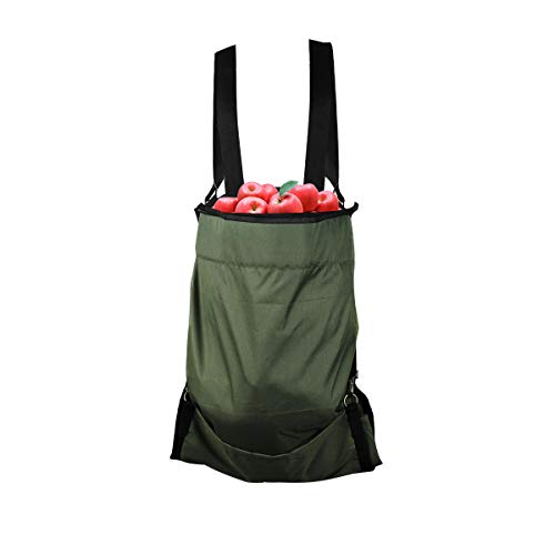 Mochiglory Harvest Garden Apron Fruit Picking Bag by Mochiglory