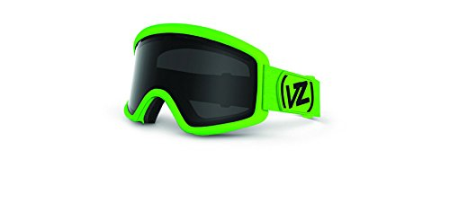 Von Zipper GMSNCBEE Matte Lime Flash Beefy Visor Goggles Lens Category 4 Lens - Zipper Von Beefy