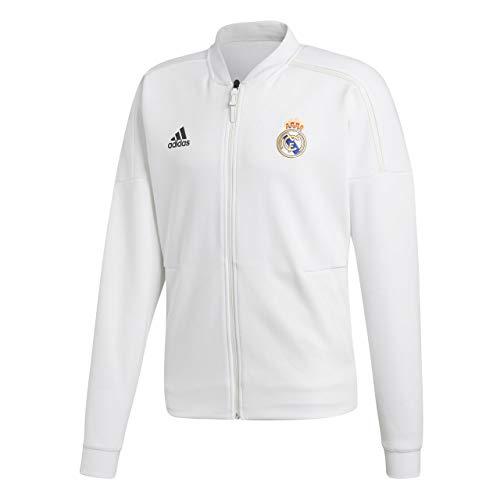 - adidas 2018-2019 Real Madrid ZNE Anthem Jacket (White)