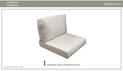 TK Classics 6 inch High Back Cushion