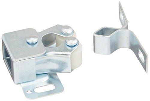 Amerock 143 Allison Value Hardware Double Roller Catch, Perma-Brite Zinc by Amerock