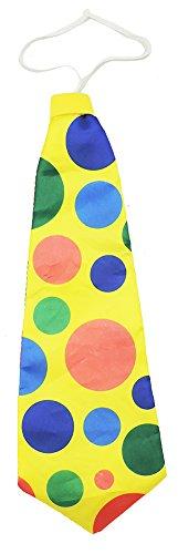 Jumbo Giant Polka Dot Clown Neck Tie ()