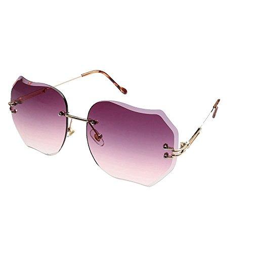 gafas gafas de Shop de sol 6 sol gafas metálicas sol de de color Siete Gafas sol Gafas de sol sombrillas sin marco de 8Hw8ar