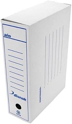 Caja Archivo Definitivo Disnak Folio Prolongado: Amazon.es: Electrónica