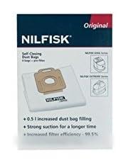 NILFISK ADVANCE - sachet de sacs (x4) extreme king+pré-fil pour aspirateur NILFISK ADVANCE