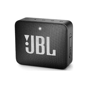 JBL Go2 Waterproof Ultra Portable Bluetooth Speaker – Black (JBLGO2BLKAM)